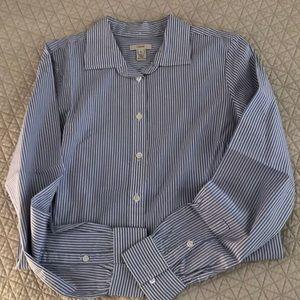 J.Crew long sleeve cotton blouse.